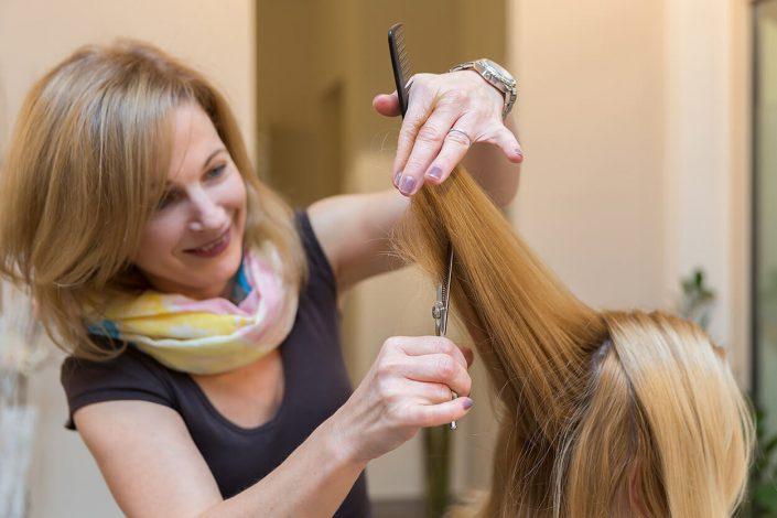 Haareschneiden Friseur HS