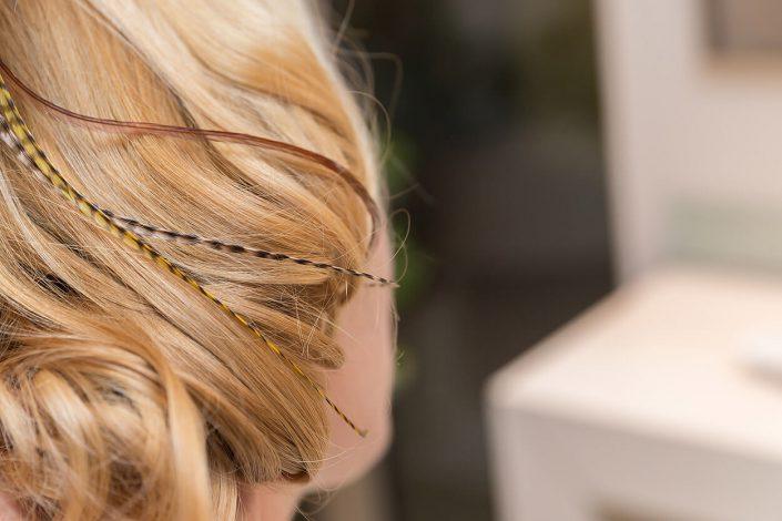 Haarschmuck Detail